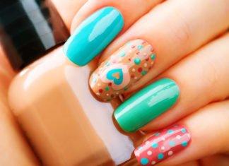 Efektowane wzorki na paznokciach