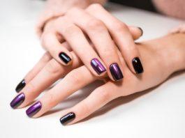 Pięknie wyglądające paznokcie tytanowe